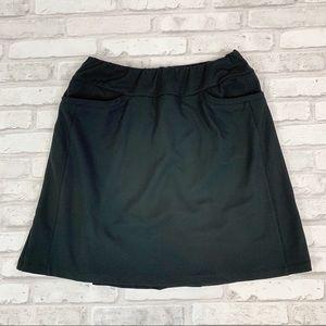 Tail Athletic Black Tennis Golf Skirt Skort Sz XS